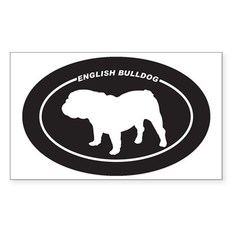 English-Bulldog Sticker (Rectangle)