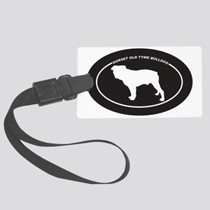 Dorset-Old-Tyme-Bulldog Large Luggage Tag