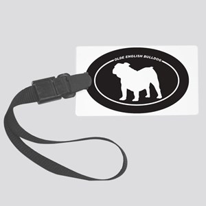 Olde-English-Bulldog Large Luggage Tag