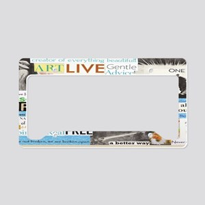 recovery14x6smframeprtreg License Plate Holder