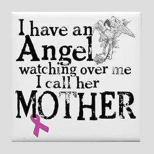 8-mother angel Tile Coaster