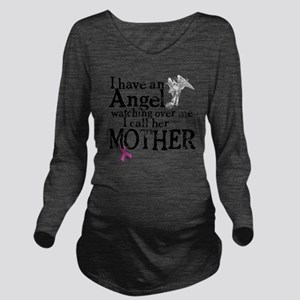 8-mother angel Long Sleeve Maternity T-Shirt