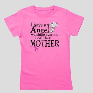 8-mother angel Girl's Tee