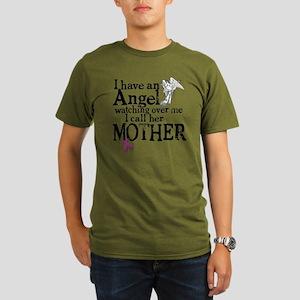 8-mother angel Organic Men's T-Shirt (dark)