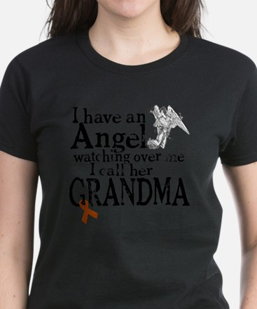 6-grandma angel Women's Dark T-Shirt