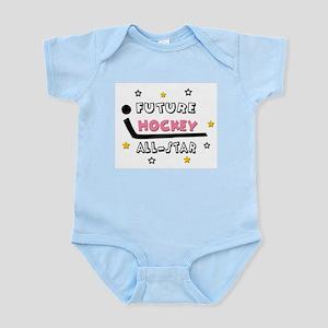 Future All-Star Hockey Player Infant Bodysuit