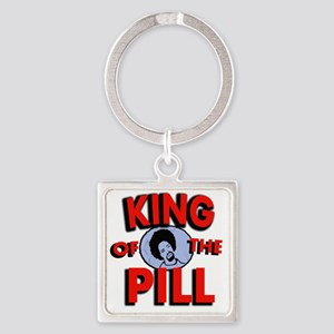 king of the pill copy Square Keychain