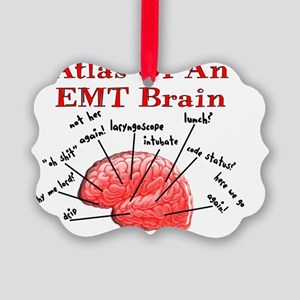 Atlas Of An EMT Brain Picture Ornament