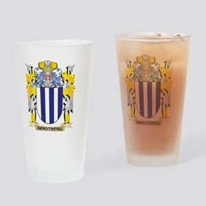 Armstrong Coat of Arms - Family Cre Drinking Glass