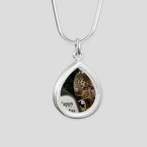 BDHawkPort Silver Teardrop Necklace