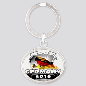 GERMANY World Cup 2010 Oval Keychain