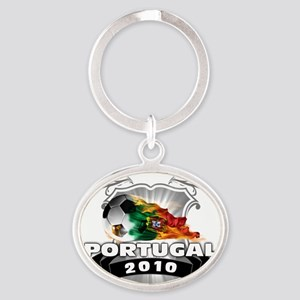 PORTUGAL World Cup 2010 Oval Keychain