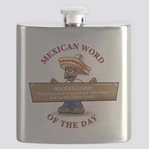MWOD-WoodenChair Flask