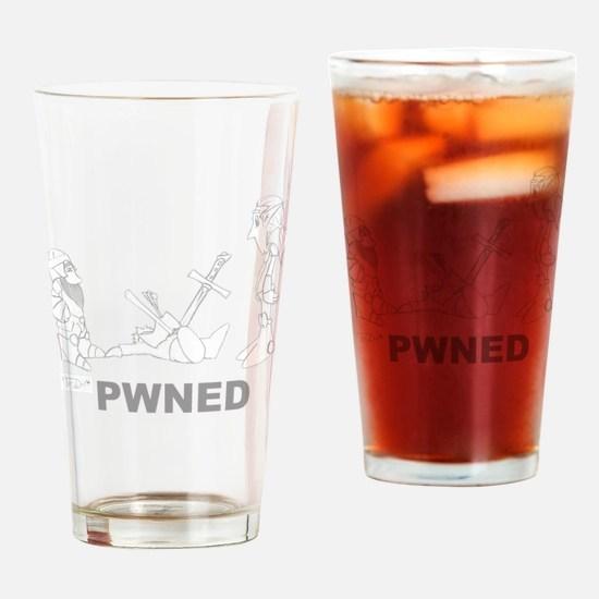 PWNEDtest3 Drinking Glass