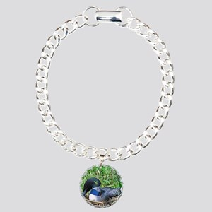 note card -front Charm Bracelet, One Charm