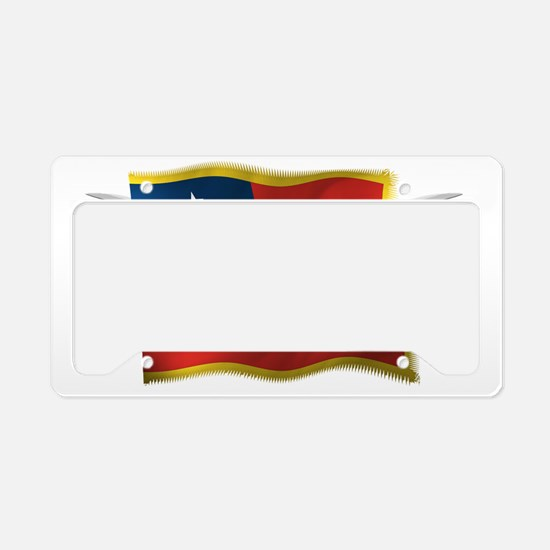 TX first national License Plate Holder