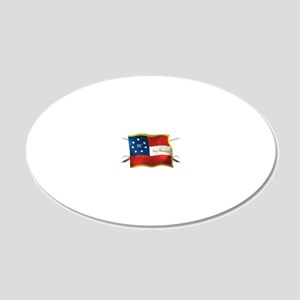 sc first national 20x12 Oval Wall Decal