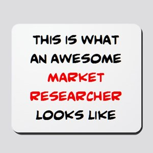 awesome market researcher Mousepad