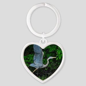 9x12_print Heart Keychain
