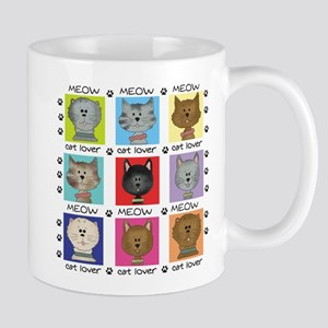 Meow Cat Lover Mug