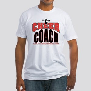 CHEER-COACH Fitted T-Shirt