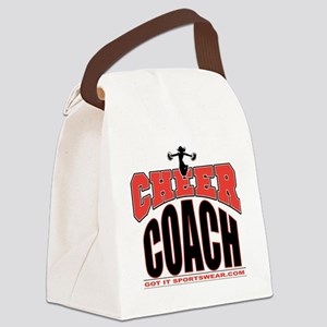 CHEER-COACH Canvas Lunch Bag