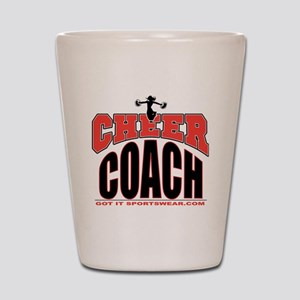 CHEER-COACH Shot Glass