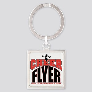 CHEER-FLYER Square Keychain