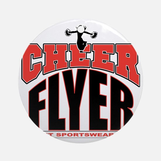 CHEER-FLYER Round Ornament