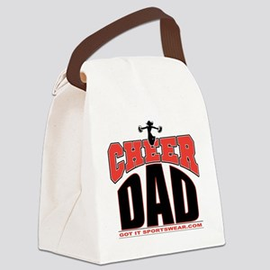 CHEER-DAD Canvas Lunch Bag