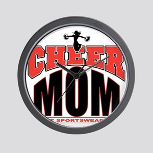 CHEER-MOM Wall Clock