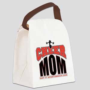CHEER-MOM Canvas Lunch Bag