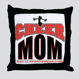 CHEER-MOM Throw Pillow
