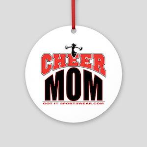 CHEER-MOM Round Ornament