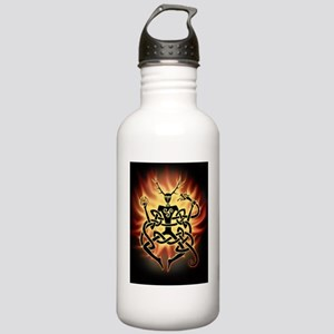 cernunnos flames Stainless Water Bottle 1.0L