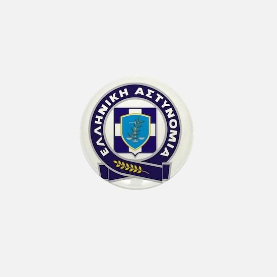 GreekPolice Mini Button