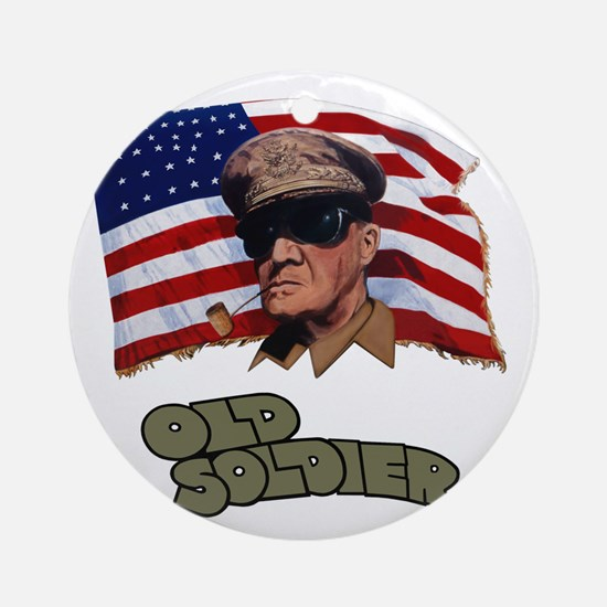 B-52G 58-0178 Old Soldier - Alterna Round Ornament