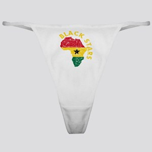 Blackstars African map Classic Thong