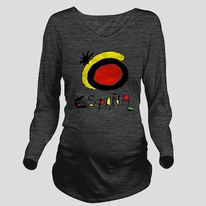 espana Long Sleeve Maternity T-Shirt