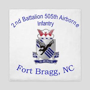 2nd Bn 505th ABN Queen Duvet