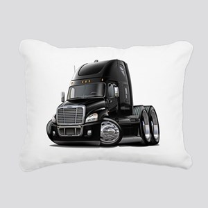 Freightliner Cascadia Bl Rectangular Canvas Pillow