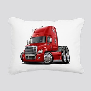Freightliner Cascadia Re Rectangular Canvas Pillow
