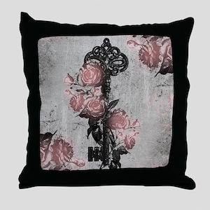 rose-key_13-5x18 Throw Pillow