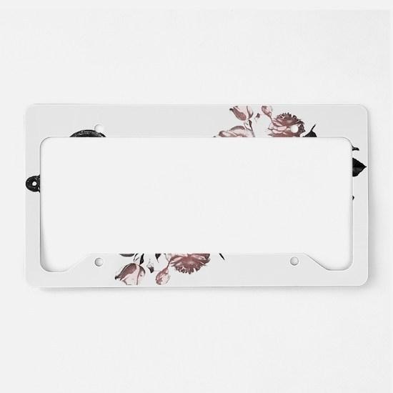 rose-key_trh License Plate Holder