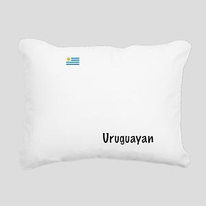 03_Uruguayan_10x10_wc Rectangular Canvas Pillow