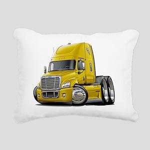 Freightliner Cascadia Ye Rectangular Canvas Pillow