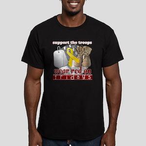wearred_final Men's Fitted T-Shirt (dark)
