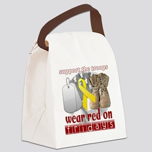 wearred_final Canvas Lunch Bag