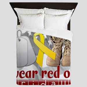 wearred_final Queen Duvet