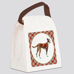 RDORN-pharaoh-hound-christmas Canvas Lunch Bag
